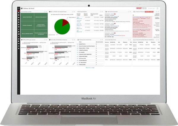 Rooftech solution numérique de gestion